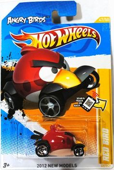 Angry Birds Red Bird Hot Wheels (Born in El Segundo Ca. Angry Birds, Play Vehicles, Hot Wheels Cars, New Model, Cool Toys, Diecast, Kids Toys, Car Car, Models