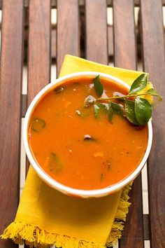 Easy Tomato Rasam recipe is a popular recipe from South-India. Rasam is a spicy tomato curry or soup served with hot steamed rice, papad and veggies.