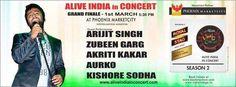 Alive India In Concert - Grand Finale on 1 March 2014 at Phoenix Marketcity, Mahadevapura