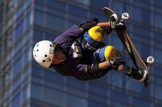 Jagger Eaton, 11, at summer xgames 2012 PHOTOGRAPH BY: PATRICK T. FALLON / LOS ANGELES TIMES