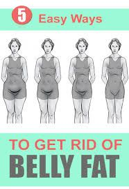 Image result for how to get rid of the stomach fat