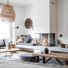 Living Room Interior, Home Living Room, Living Room Designs, Living Room Decor, Living Spaces, Home Fireplace, Fireplace Design, Hamptons House, Modern Home Interior Design
