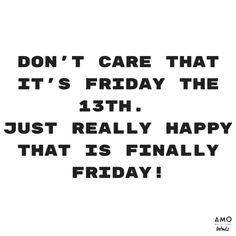 Friday, 13th