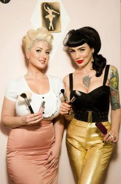 Modern day pin-ups. I was born in the wrong time period.