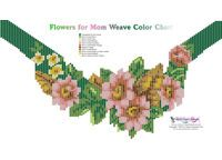 Flowers for Mom Weave Necklace for Beading