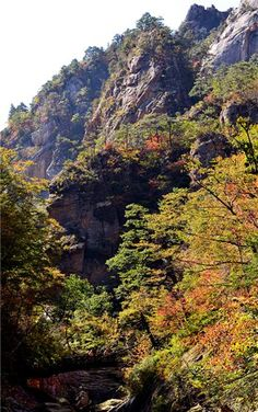 #Seoraksan in Autumn, #Gangwon Province, Korea