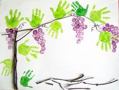 Best Activities for Preschoolers - Knittting Crochet - Knittting Crochet Kids Crafts, Diy And Crafts, Arts And Crafts, Autumn Activities, Preschool Activities, Fruit Crafts, Footprint Crafts, Vides, Handprint Art
