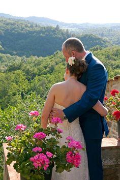Italian Jewish Wedding {Belle Momenti Photography} - mazelmoments.com