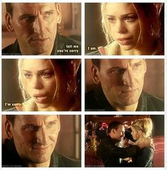 I kind of loved this episode. I was just as cranky with Rose as the Doctor was, but I just loved their relationship. And that instead of letting their fight continue, they fix it. And move on.