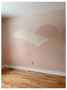 Home Bedroom, Bedroom Decor, Mountain Mural, Mountain Landscape, Wall Murals Bedroom, Mural Wall, Landscape Walls, Abstract Landscape, Landscape Design