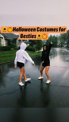 Cute Group Halloween Costumes, Trendy Halloween, Halloween Outfits, Women Halloween, Family Halloween, Bff Costume Ideas, Funny Group Costumes, Halloween Decorations, Cute Costumes