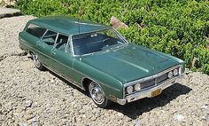1970 Ford station wagon.  Mine was blue.  Paid $2,200.  Needed it for trips home to Ontario with young family while living in Halifax, NS, during 1969 to 1971.  Girls had a 4ft by 8ft mattress in back for a playroom....seat belts you ask.  It sat at Bro's farm for 23 years until my nephew scrapped it.