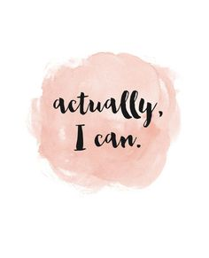 """Actually I can."" #CandPQuotes"