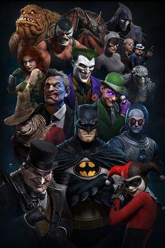 Batman: The Animated Series, an art print by Rafael Grassetti Marvel Dc Comics, Dc Comics Superheroes, Dc Comics Art, Batman Poster, Batman Artwork, Batman Comic Art, Joker Batman, Batman Robin, Batman Arkham