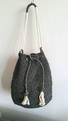 Weekender Bag Drawstring bag Bucket Bag Rucksack von cookieletta