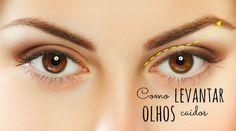 Maquiagem para levantar o olhar: truques profissionais com efeito milagroso - Bolsa de Mulher