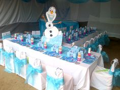 Mauricia's Frozen Party in De Doorns, South Africa