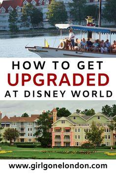 How to Get Upgraded at Disney World Resorts: 6 Amazing Tips - girl gone london Disney World Hotels, Disney World Resorts, Hotels And Resorts, Walt Disney World, Disney Worlds, Disney Parks, Disney Vacation Club, Disney Cruise, Disney Vacations