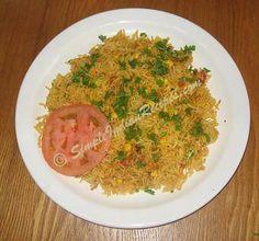 Corn Biryani - Corn Biriyani - Corn Pulav | Simple Indian Recipes