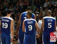 Léo Westermann - Alexis Ajinça - Tony Parker - Nicolas Batum Strasbourg, Tournoi, 2013, Basketball, Sports, Hs Sports, Sport, Netball