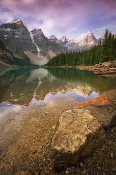 Moraine Lake, Banff by Quynh Ton on 500px