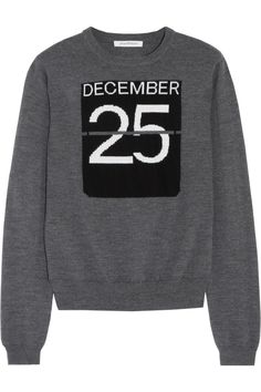J.W.Anderson|Intarsia merino wool sweater|NET-A-PORTER.COM