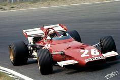 1970 GP Holandii (Clay Regazzoni) Ferrari 312B