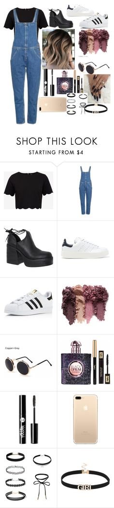 """""""Untitled #73"""" by loved9999 ❤ liked on Polyvore featuring Ted Baker, M.i.h Jeans, Windsor Smith, adidas Originals, adidas, Yves Saint Laurent and Charlotte Russe"""