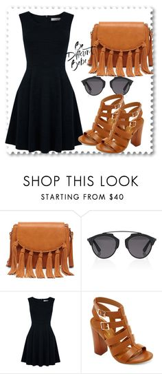 """""""Untitled #2"""" by sanela-avdic-mutapcic ❤ liked on Polyvore featuring Sole Society, Christian Dior, Oasis and Bamboo"""