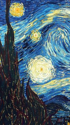 The Starry Night Artist Vincent Van Gogh
