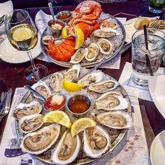 Because it's National Oysters on the Half Shell Day! -- #TGIF #Oysters #RawBar #Lobster #Clams #Raw #Seafood #Shellfish #Wine #Riesling #HappyHour #Cheers #Food #Foodie #Instafood #FoodPorn #Foodstagram #LegalSeaFoods #NewJersey #NJ #Restaurants #JerseyEats #Eeeeeats #FoodBlog #DesiredTastes