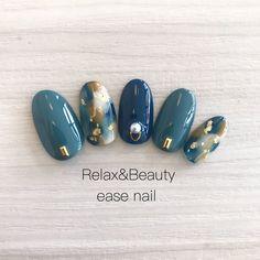 Japanese Nail Design, Japanese Nails, Holloween Nails, Korean Nail Art, Elegant Nail Art, Kawaii Nails, Manicure Y Pedicure, Sparkle Nails, Luxury Nails