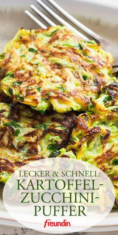 A light dish for lunch and dinner. Potato and zucchini buffets taste good for the whole family A light dish for lunch and dinner. Potato and zucchini buffets taste good for the whole family Zucchini Pancakes, Zucchini Fritters, Zucchini Puffer, Paleo, Vegetarian Recipes, Healthy Recipes, Vegetarian Cooking, Slow Cooking, Asian Recipes