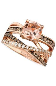 Morganite ring #sponsored