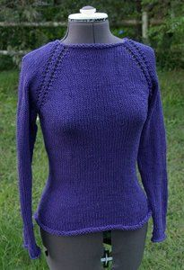 One Week Sweater Note to self: try this in Cascade Pima cotton.