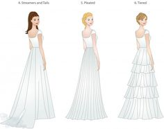 Wedding Dress Skirt Types Shapes Overlays And Textures That Make All The Difference