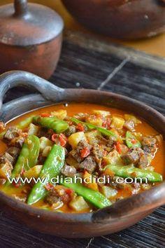 Diah Didi's Kitchen: Sambel Goreng Ati, Kapri & Kentang