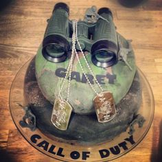 Call of Duty cake I made for Garet