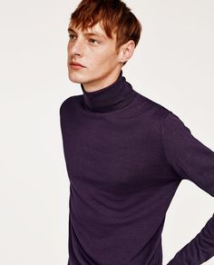 Image 1 of TURTLENECK SWEATER from Zara