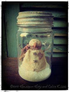 Snowman ... Homespun Hugs and Calico Kisses Primitives