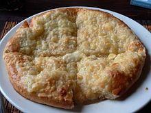 Een chatsjapoeri (Georgisch: ხაჭაპური; Engelse transliteratie: Khachapuri) is een Georgisch deeggerecht dat bestaat uit een brood gevuld met kaas en vaak ook bedekt met kaas. Het is een van de meest populaire gerechten van het land en kan zowel in restaurants als bij stalletjes langs de weg gegeten worden.