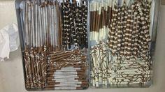Cikolata sigara dekorlarım Chocalette smoking dekoration..