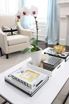 See more @ http://www.bykoket.com/inspirations/interior-and-decor/coffee-table-styling-ideas