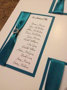 visit www.facebook.com/weddingfinds to find supplier details - teal & silver wedding theme
