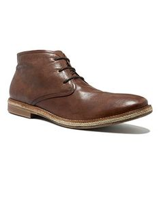 Kenneth Cole Boots, Braid Up Chukkas - Mens Boots - Macy's