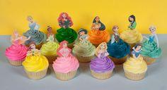 disney princess cupcake toppers free printable - Recherche Google
