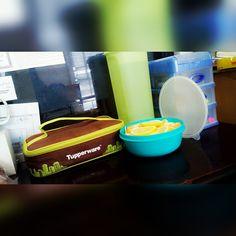 Yummy :* #tupperware #healthy #lemon #fruit