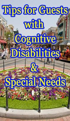 Learn all about how to take a child with special needs or challenges to Disneyland. Lots of Disneyland provided resources are mentioned plus tips on how to escape the sensory overload of the parks. | Note: These tips are useful also if visiting Disney WORLD