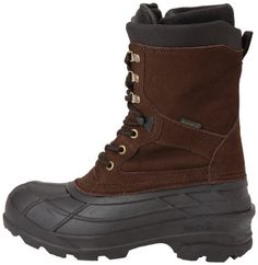 Kamik keeps feet warm, cozy, and dry with a style that smoothly transitions from outdoor to indoor wear. Cold Weather Boots, Snow Boots, Fashion Boots, Dark Brown, Casual Shoes, Calves, Brown Leather, Footwear, Heels