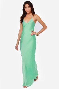 It Must Be Love Mint Green Maxi Dress at LuLus.com!